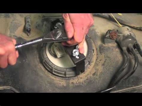 fuel tank lock ring tool youtube