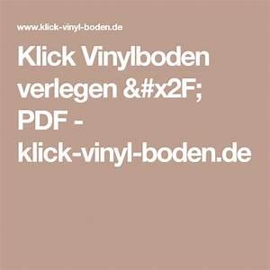 Klick Vinylboden Verlegen : klick vinylboden verlegen pdf klick vinyl vinylboden verlegen vinylboden und ~ Watch28wear.com Haus und Dekorationen