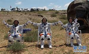 Shenzhou 9, Tiangong 1, CNTV ENGLISH, 3 astronauts