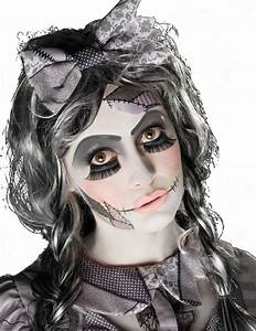 Halloween Make Up Puppe : gruselige puppe halloween schmink set weiss grau schwarz g nstige faschings make up bei ~ Frokenaadalensverden.com Haus und Dekorationen