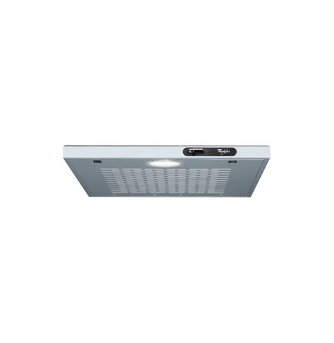 hotte de cuisine whirlpool hotte aspirante whirlpool 60cm metal biougnach electro