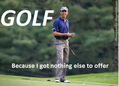 Golf Meme - reaganite independent isis world caliphate going right to plan