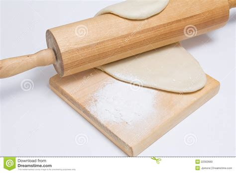 dough with roller knead stock photo image 22302660