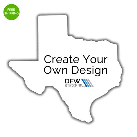 design your own stickers create your own pride sticker dfw stickers