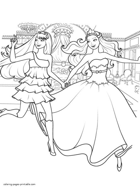 barbie  princess   popstar coloring sheets  girls coloring pages printablecom