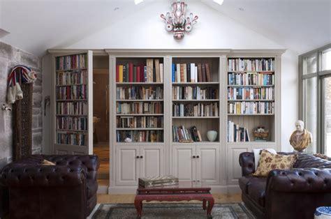 How To Build A Secret Bookcase Door - secret bookcase doors revealed keeley kraft