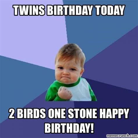 Twin Memes - twin birthday memes image memes at relatably com