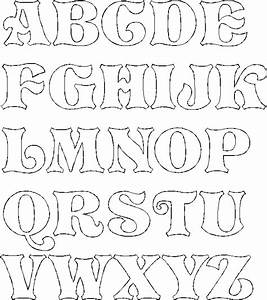 Free fancy letters a-z coloring pages