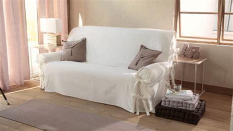protege canapé 3 places housse de canape blanc