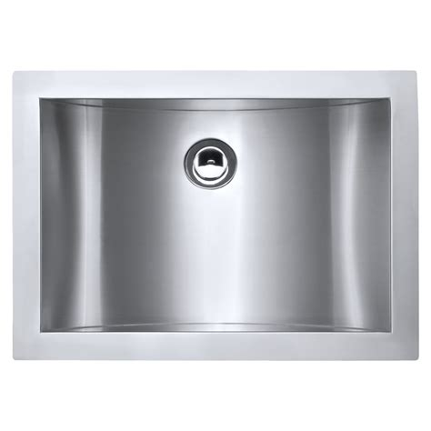 Steel Bathroom Sink by Ruvati 21 Quot X 15 Quot Brushed Stainless Steel Rectangular