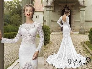 very elegant and beautiful lace wedding dress slimming With slimming wedding dresses