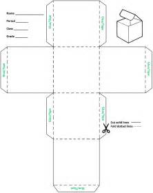 Cube Cut Out Template