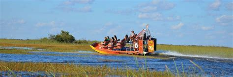 Glass Bottom Boat Tours Everglades by Book Everglades Airboat Ride Biscayne Cruise From Miami