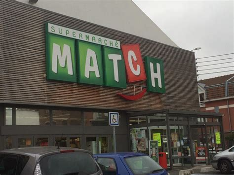 supermarche match la madeleine supermarche hypermarche  rue du general de gaulle  la