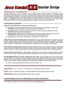best interior design resume exles exle interior designer resume free sle