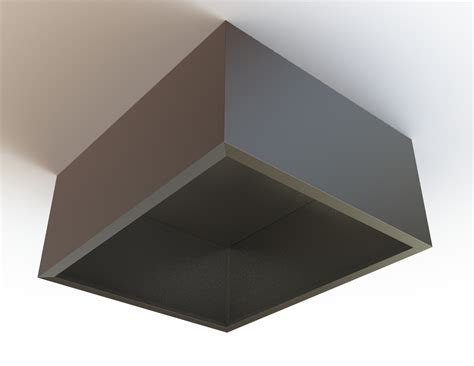 Box Style Condense Canopy Hood, Extraction Canopy UK
