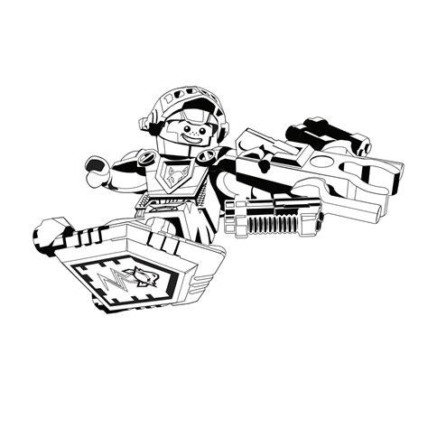Kleurplaat Ridder Lego by Leuk Voor Lego Nexo Knights Ridder Aaron