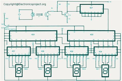 counter circuit digital counter electronics project