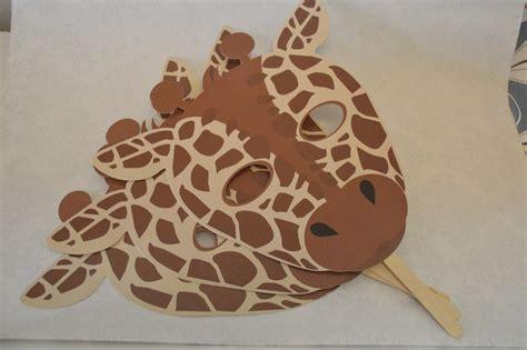 Máscara De Animales De La Selva Jirafa $ 46 00 en