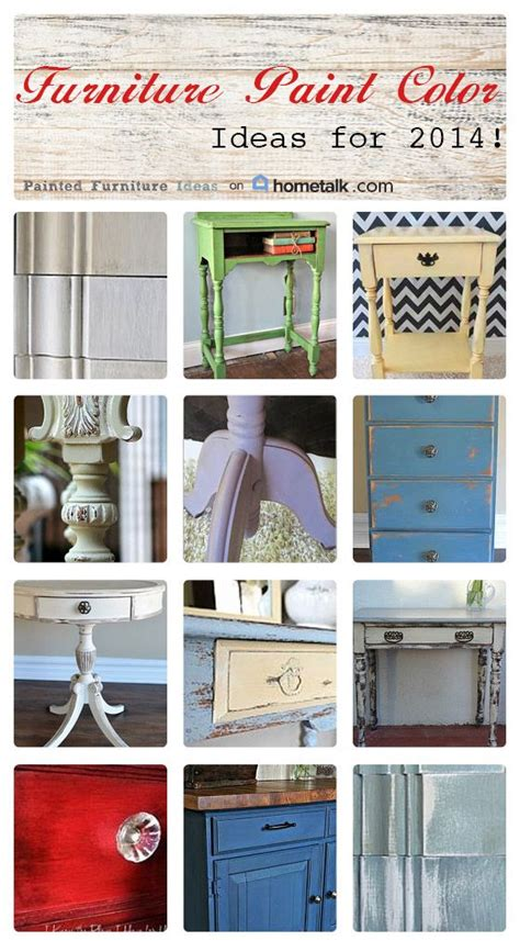 furniture paint color ideas for 2014 how to