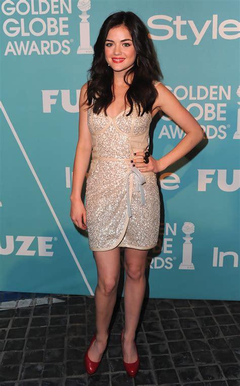 Lucy Hale Platform Pumps - Lucy Hale Heels Looks - StyleBistro