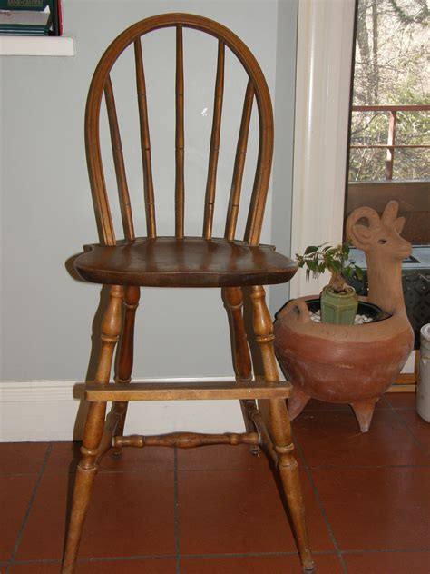 nichols and antique chair vintage nichols chair bow back youth high