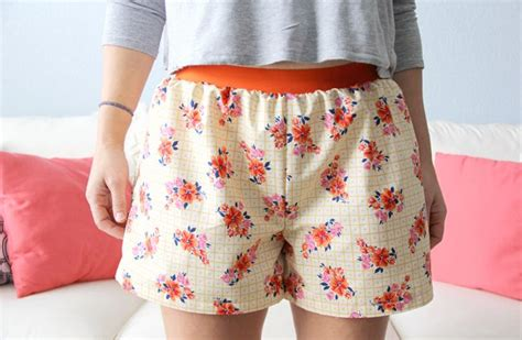 How To Make Easy Women's Boxer Shorts (with Free Pattern