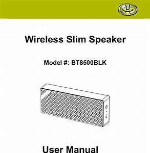 Dongguan Taide Bt018 Wireless Speakers User Manual 15