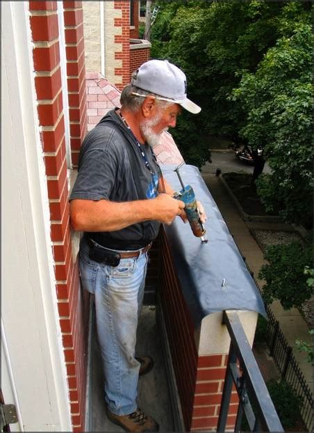 masonry flashing replacement installation door window