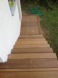 Terrasse Bois Exotique : wandgestaltung wohnzimmer terrasse en bois exotique ip ~ Melissatoandfro.com Idées de Décoration