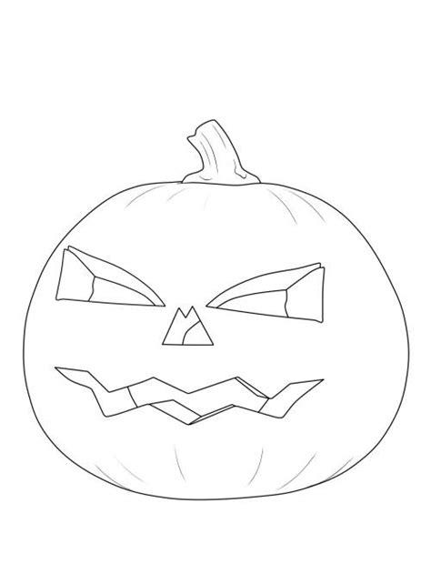 kostenlose malvorlage halloween kuerbis laterne ausmalen