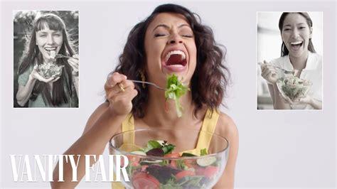 vanity fair cancel subscription liza koshy re creates stock photos vanity fair