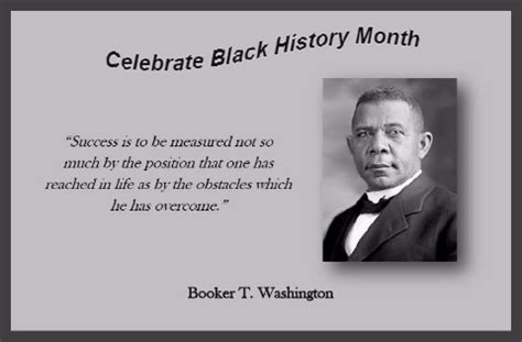 black history booker washington black history month ecards
