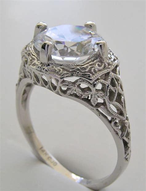 vintage wedding rings vintage wedding ring mountings