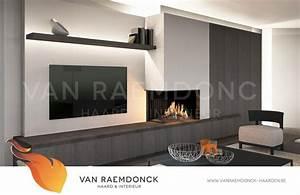 Moderne Tv Wand : moderne hoekhaard met tv van raemdonck haard interieur ~ Sanjose-hotels-ca.com Haus und Dekorationen