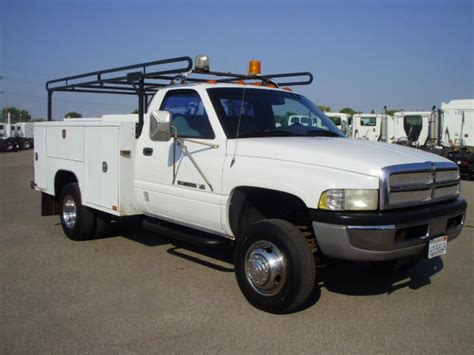 electric truck for sale dodge service utility trucks for sale used service autos