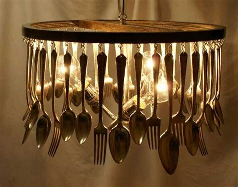 unique lighting design ideas recycling tableware