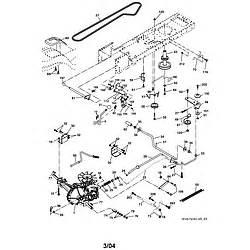craftsman lawn tractor parts model 917273180 sears