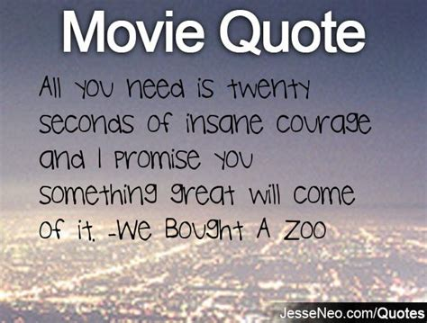 zoo quotes bought seconds