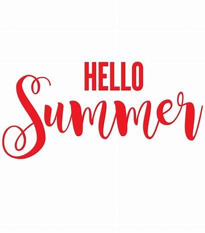 Hello Summer Clipart Flamingo Sign Porch Text