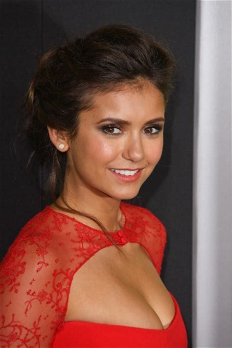 Nina Dobrev?s Perfect Prom Hairstyles   Hottest Celebrity