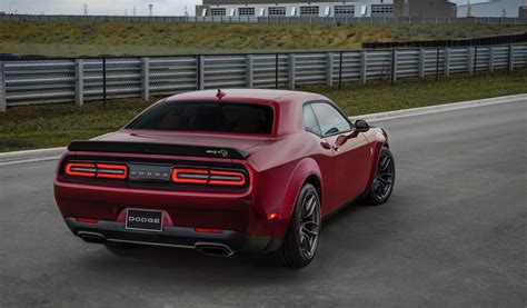 2018 Dodge Challenger Srt Hellcat Widebody Brings Extra