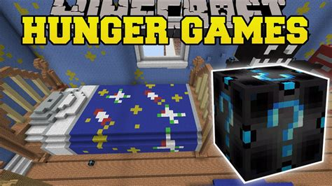 minecraft bedroom hunger games lucky block mod modded mini game youtube