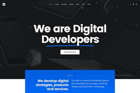 Digital Agency - creative digital agency uncode