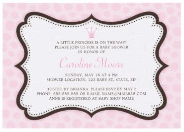 baby shower invitation borders paperinvite