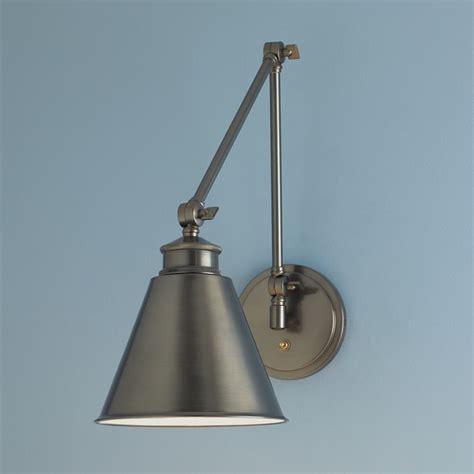 Norwell Lighting Aidan Architectural Bronze Swing Arm Lamp