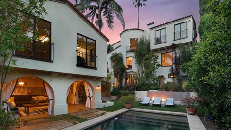 3 Spanish Style Homes In Los Angeles, California