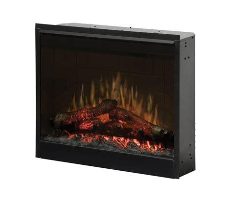"Dimplex DF2608 26"" Plug in Electric Firebox with Brick Effect"
