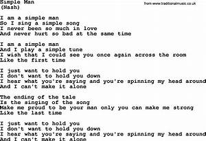 Simple Man, by The Byrds - lyrics with pdf