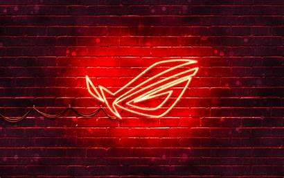 Rog 4k Republic Gamers Neon Wallpapers Desktop